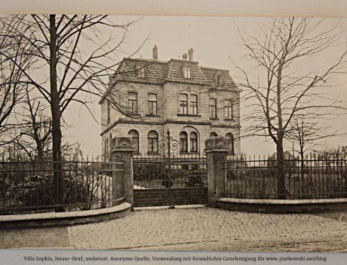 Der Aufstieg und Fall der Villa Sophia in Norf