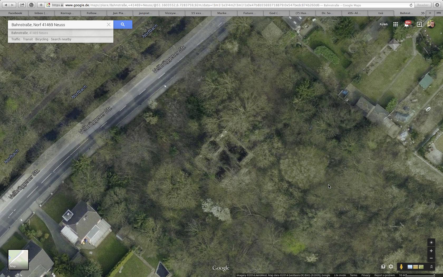 Villa Sophia - Ruine bei Google Maps