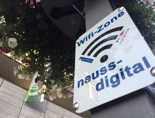Neuss: Ein Stadtrundgang zur Digitalisierung
